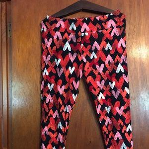 Valentines LuLaRoe leggings